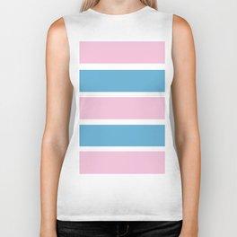 Transexual Pride Biker Tank