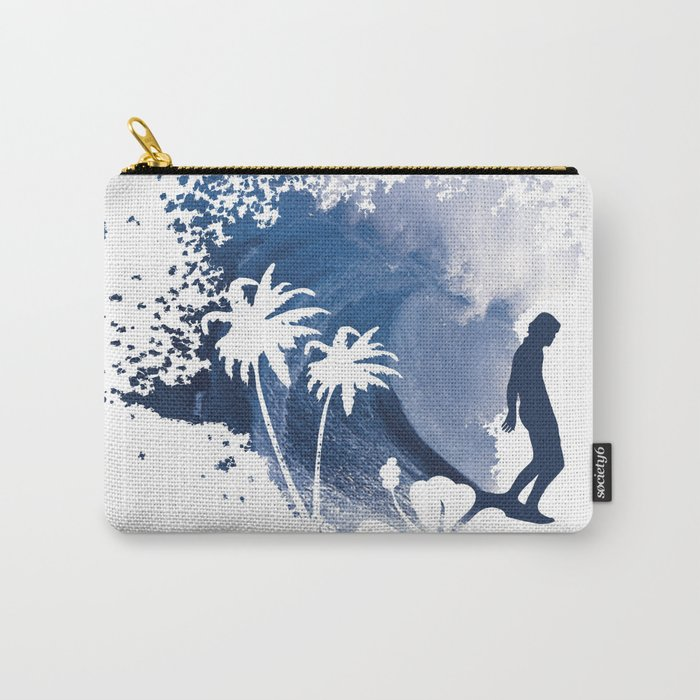 The Longboard Surfer Carry-All Pouch
