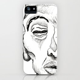 Portrait 1 iPhone Case