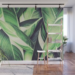 Leaves I Wall Mural