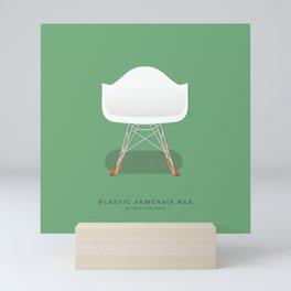 Plastic Armchair RAR - Charles & Ray Eames Mini Art Print