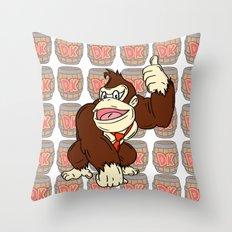 D.K Throw Pillow