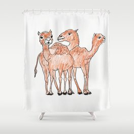 Happy Hump Day Shower Curtain