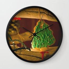 Happy Holidays  #1 Wall Clock