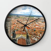 florence Wall Clocks featuring Florence by NatalieBoBatalie
