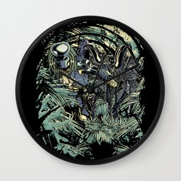 Welcome to the jungle. Wall Clock