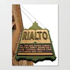 The Rialto Canvas Print