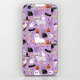 Chihuahua halloween cute spooky seasonal dog pattern chihuahuas iPhone Skin