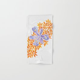 Iris and Butterfly Weeds Hand & Bath Towel