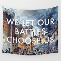 bastille Wall Tapestries featuring Glory of Storming the Bastille by Lorde Art History
