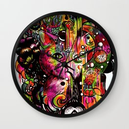 Amygdala Malfunction Wall Clock