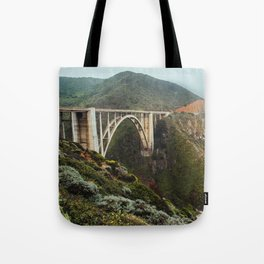 Bixby Bridge | Big Sur California Highway Ocean Coastal Travel Photography Tote Bag