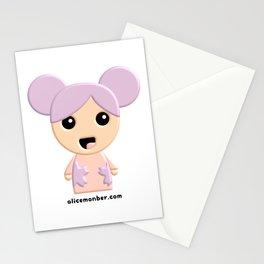 Aiko Kokeshi Doll Stationery Cards