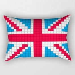 Union Jack by Qixel Rectangular Pillow