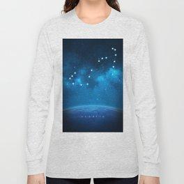 Scorpio: Astrological Art Long Sleeve T-shirt