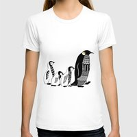 penguins T-shirts featuring Penguins by Sophie H.