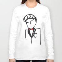 bond Long Sleeve T-shirts featuring Bond by Kalex Art