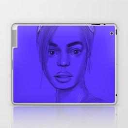 Joan in purple Laptop & iPad Skin