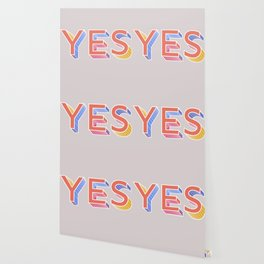 YES - typography Wallpaper
