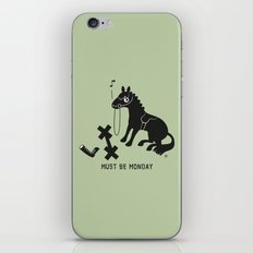 Must Be Monday, Horse iPhone & iPod Skin