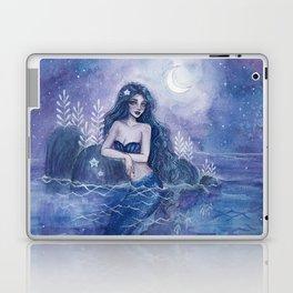 Moonlight Mermaid Laptop & iPad Skin