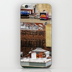San Francisco behind the scene iPhone & iPod Skin