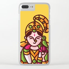 Srivilliputhur Andal Clear iPhone Case
