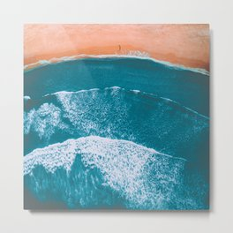 Drifting Away Metal Print