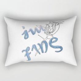 I'm fine - Save me / BTS Rectangular Pillow