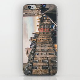 Edinburgh Sunset iPhone Skin