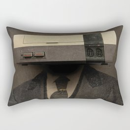 Faces of the Past: Console Rectangular Pillow