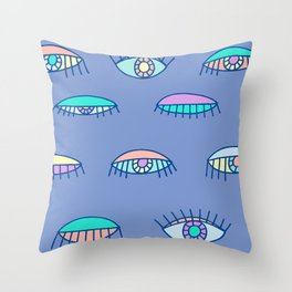 Bedroom Eyes Throw Pillow
