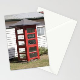 Old Telephone box Stationery Cards