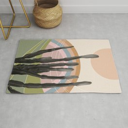 Cactus in the Desert #2 #tropical #wall #art #society6 Rug
