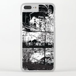 skrew this Clear iPhone Case