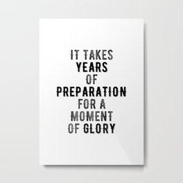 Inspirational -Prepare For Glory Metal Print