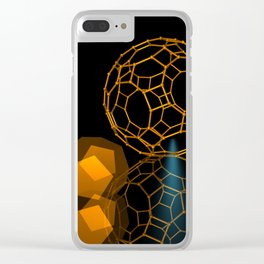 Icosahedron -1- Clear iPhone Case