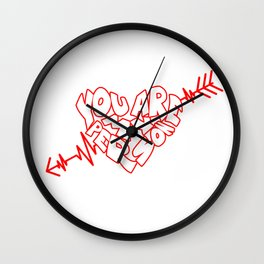You Are My Person Wall Clock