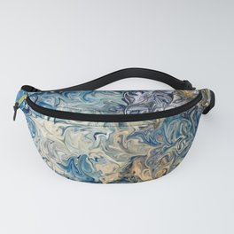 Ocean Blue Fanny Pack