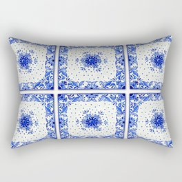Dutchie Blues 1 Rectangular Pillow