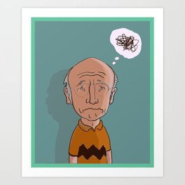 Charlie David Art Print