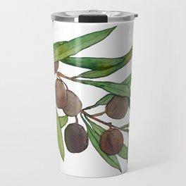 Olive leaf Travel Mug