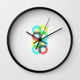 Modern Circles Wall Clock