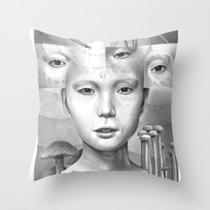 anthem for a seventeen year old series n2 Throw Pillow