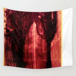 Trees in the city Wall Tapestry
