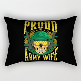 Proud Army Wife - Gift Rectangular Pillow