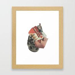 Get away Framed Art Print