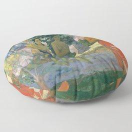Hail Mary by Paul Gauguin, 1891 Floor Pillow
