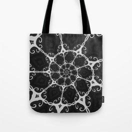 Dark Mandala #3 Tote Bag