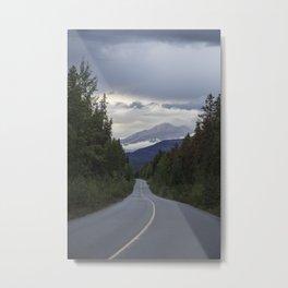 Highway to Jasper Metal Print
